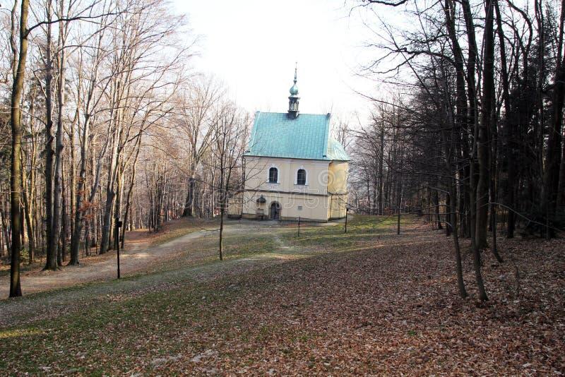 Bosque de la capilla foto de archivo libre de regalías