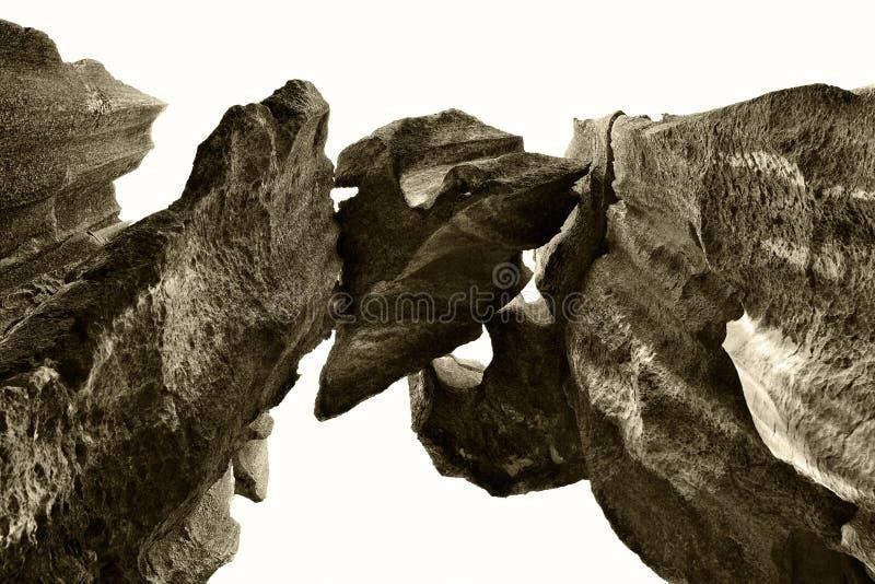 Bosque de piedra de Shilin imagenes de archivo