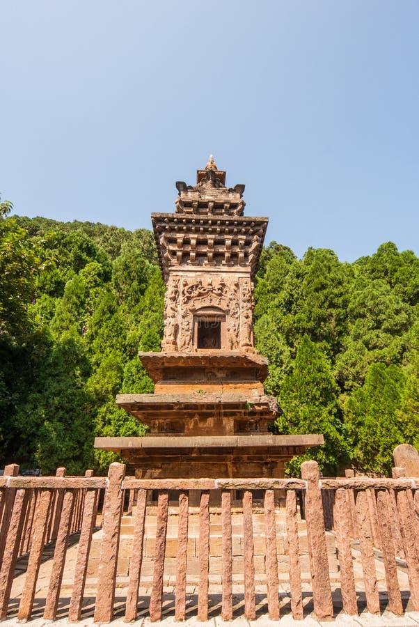 Bosque de Steles en parque de la pagoda de cuatro puertas imagen de archivo libre de regalías