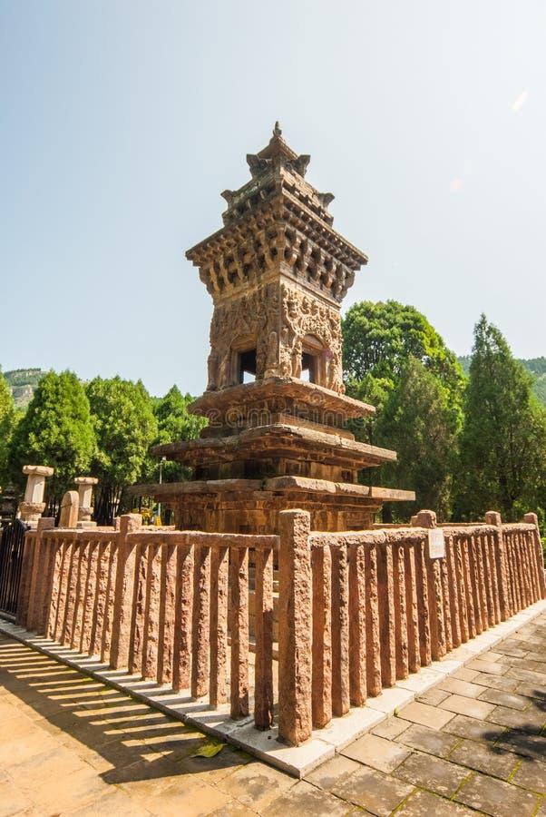 Bosque de Steles en parque de la pagoda de cuatro puertas fotografía de archivo libre de regalías