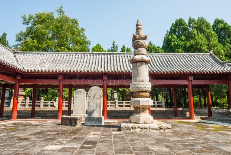 Bosque de Steles en parque de la pagoda de cuatro puertas fotos de archivo libres de regalías