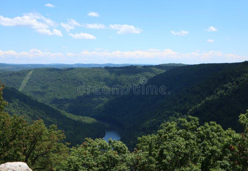 Bosque del estado de la roca del tonelero imagen de archivo