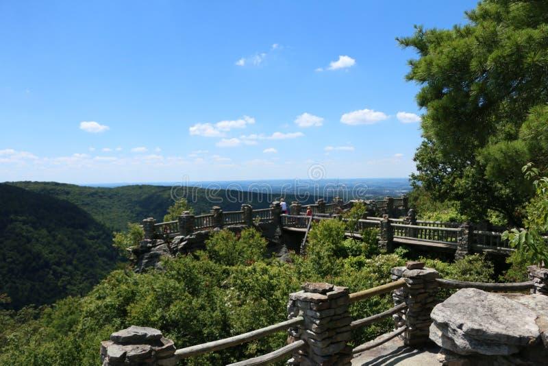 Bosque del estado de la roca del tonelero foto de archivo