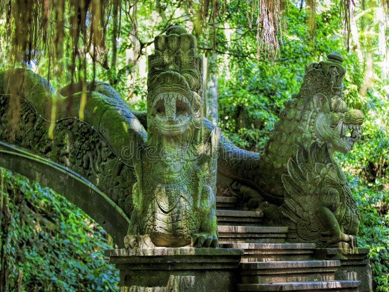 Download Bosque del mono de Ubud foto de archivo. Imagen de mono - 42442236