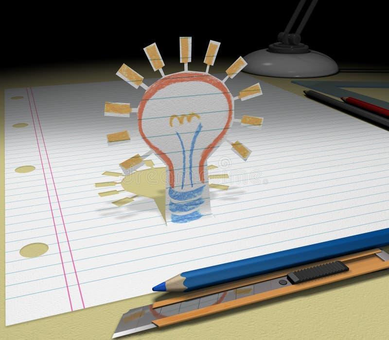 Bosqueje su sueño   libre illustration