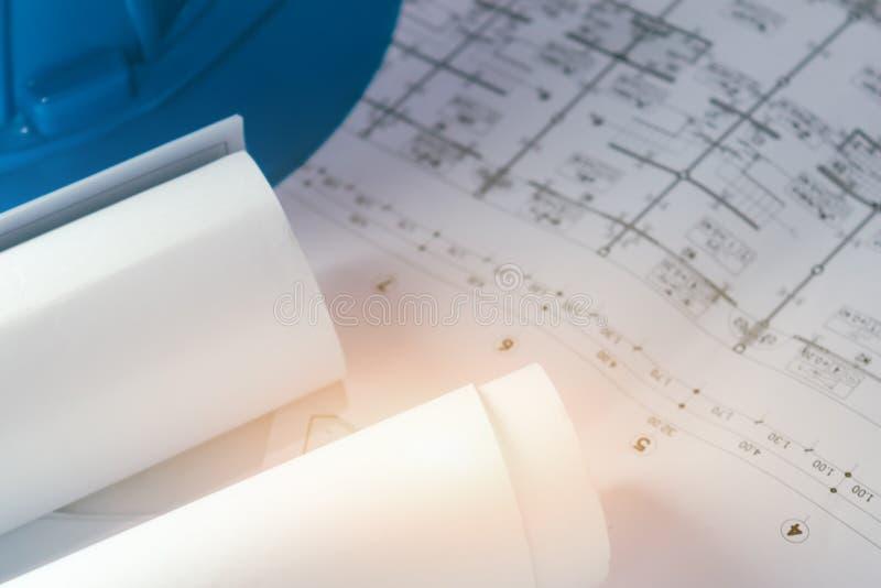 Bosquejo de elaboración del proyecto del papel de modelo del diagrama de la ingeniería foto de archivo