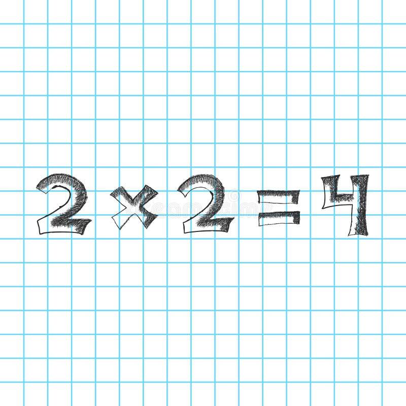 Bosquejo de las matemáticas libre illustration