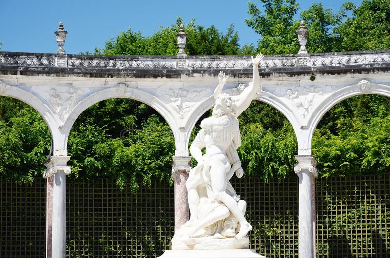 Bosquet des colannades Versailles Paris France obrazy royalty free