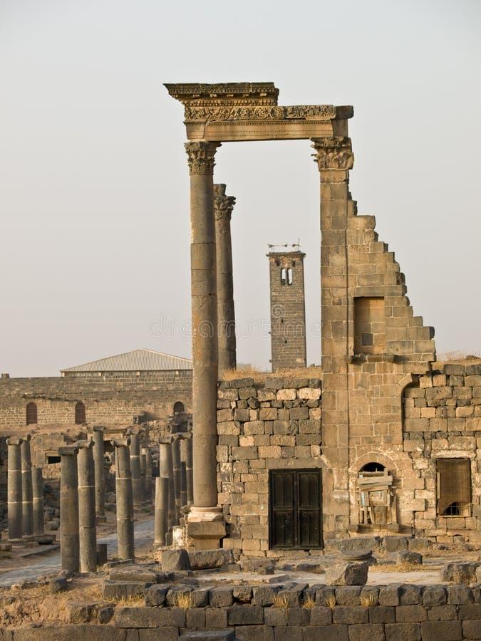 Bosra-Syria fotografia de stock royalty free