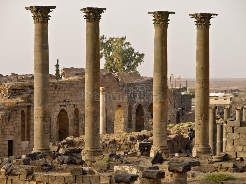 Bosra-Syrien lizenzfreie stockbilder