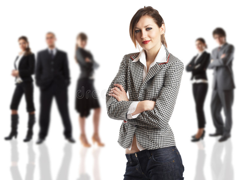 Download The Boss stock photo. Image of isolated, confident, background - 2207290