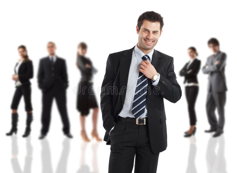 The Boss royalty free stock image