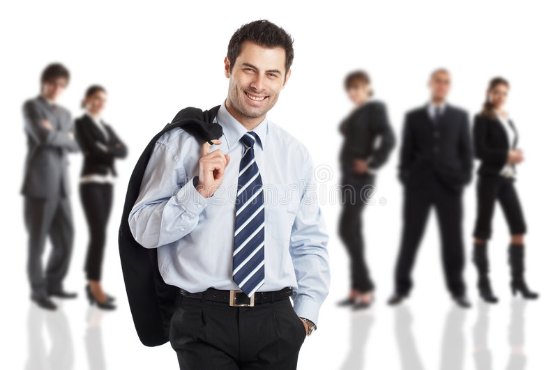 The Boss royalty free stock images