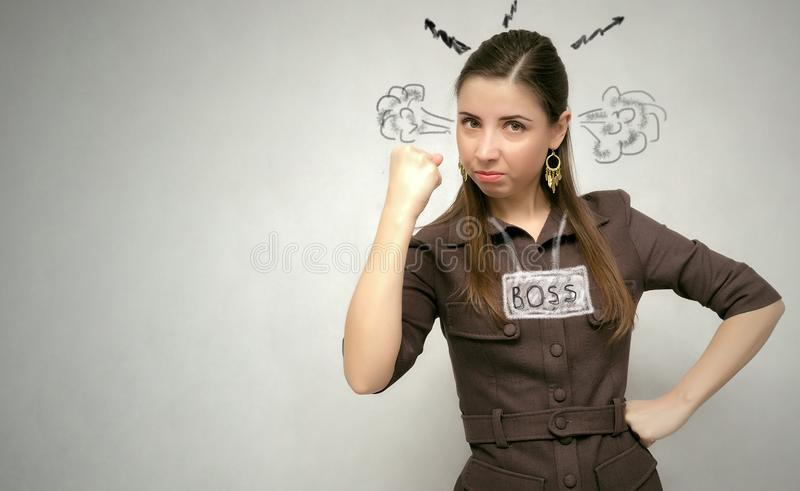 Boss. royalty free stock photo