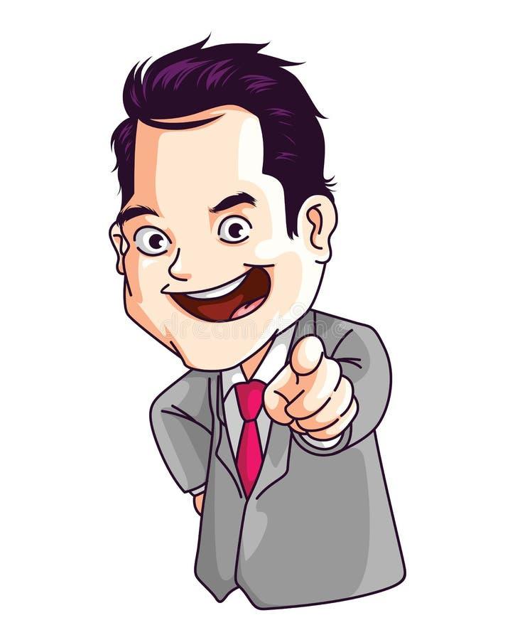 Boss Choice royalty free illustration