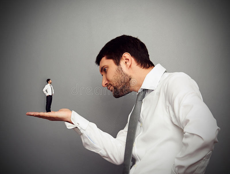 Boss Considering The Employer Stock Images