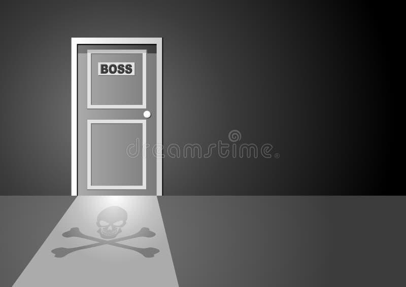 Download Boss Door stock vector. Illustration of manager, fierce - 20838878