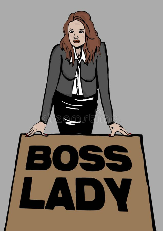 Free Boss Lady Royalty Free Stock Images - 52284849