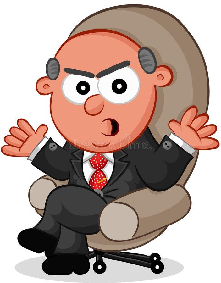 Boss Man Angry libre illustration
