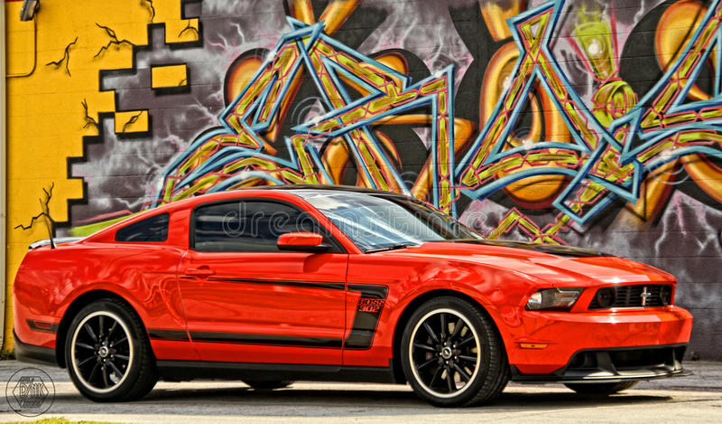 BOSS Mustang foto de archivo