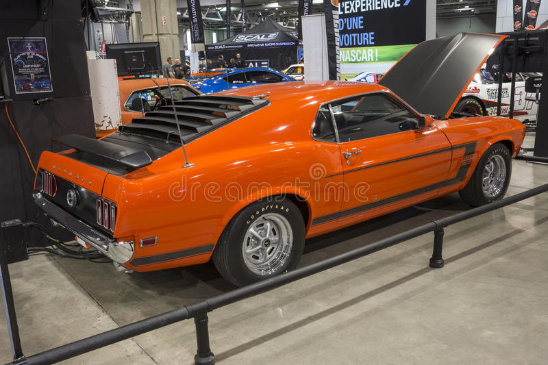 Boss 302 mustang stock images
