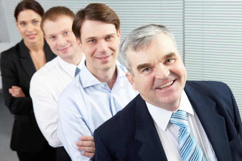 Download Boss and team stock photo. Image of adult, boss, corporate - 18591644