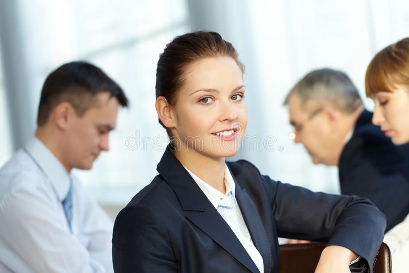 Download Boss of team stock photo. Image of businessteam, corporate - 24308844