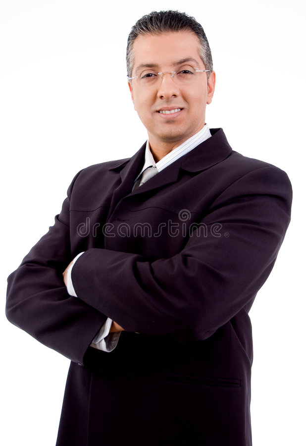 Free Boss With Crossed Arms Looking At Camera Stock Images - 8874494