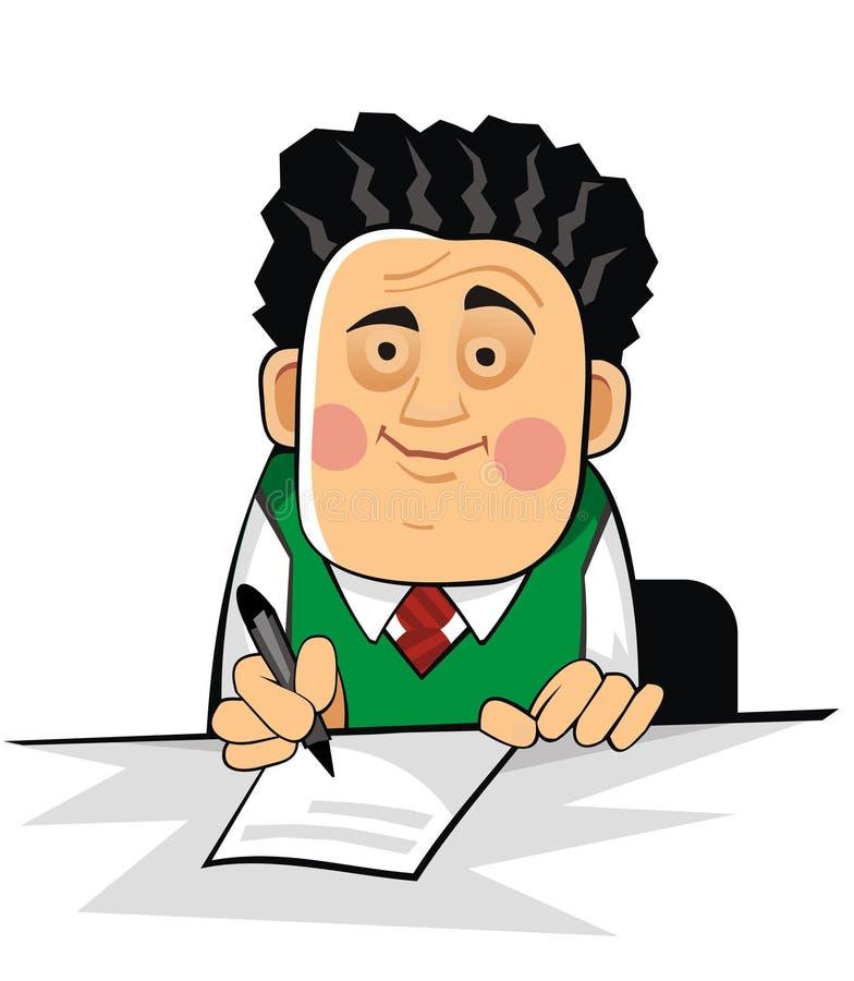 Boss2 stock illustration