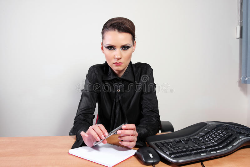 Bossy stock photo