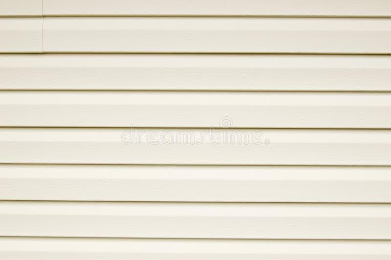 Bostads- siding för Aluminum vinyl royaltyfria foton