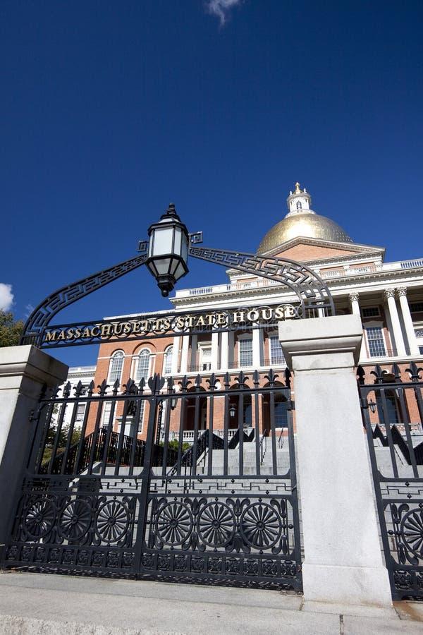 boston строя прописное положение massachusetts стоковое изображение rf
