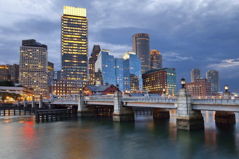 Boston royaltyfria bilder