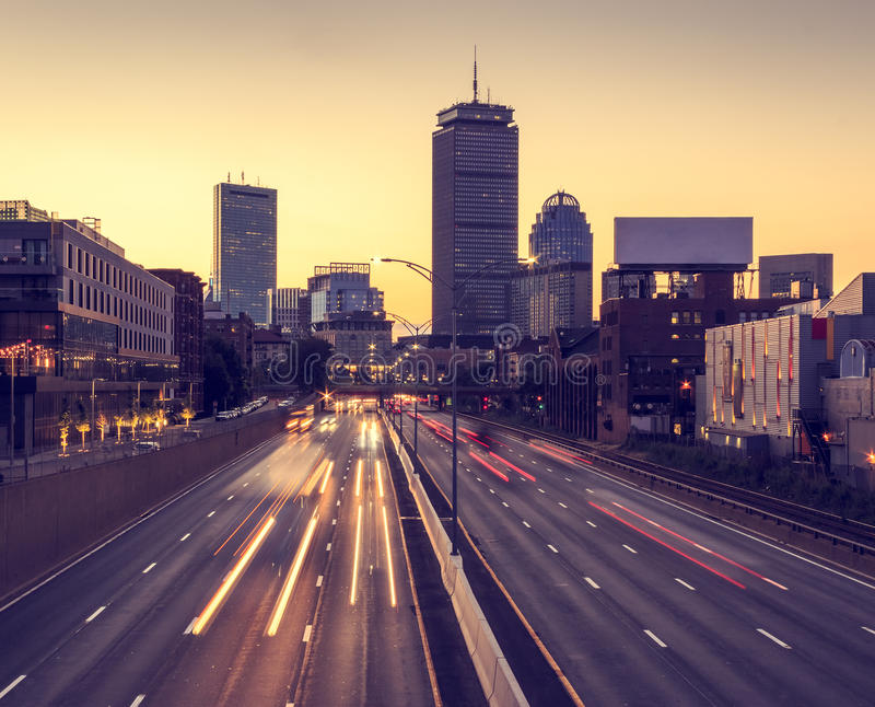 Boston royaltyfria foton