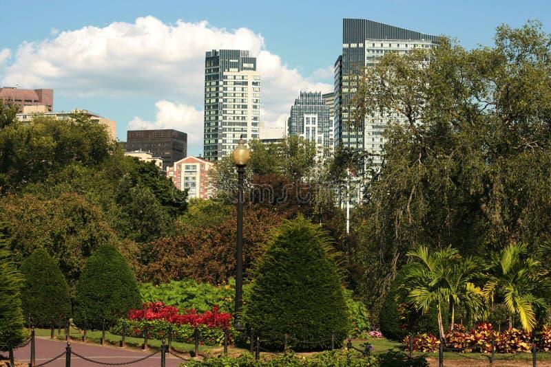 Boston-allgemeiner Garten lizenzfreies stockbild