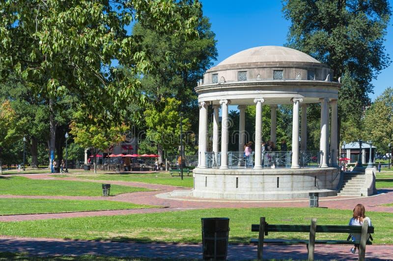 Boston błoń Parkman Bandstand zdjęcie royalty free