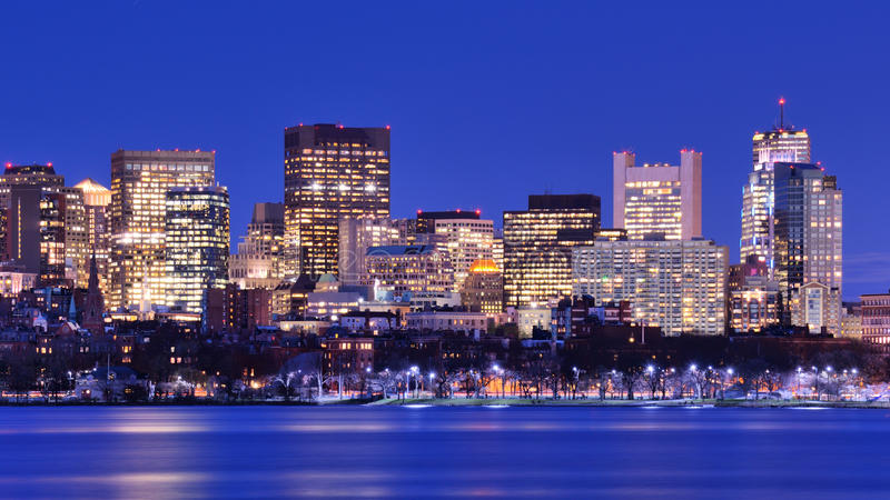 Download Boston Back Bay stock photo. Image of waterfront, district - 24639534