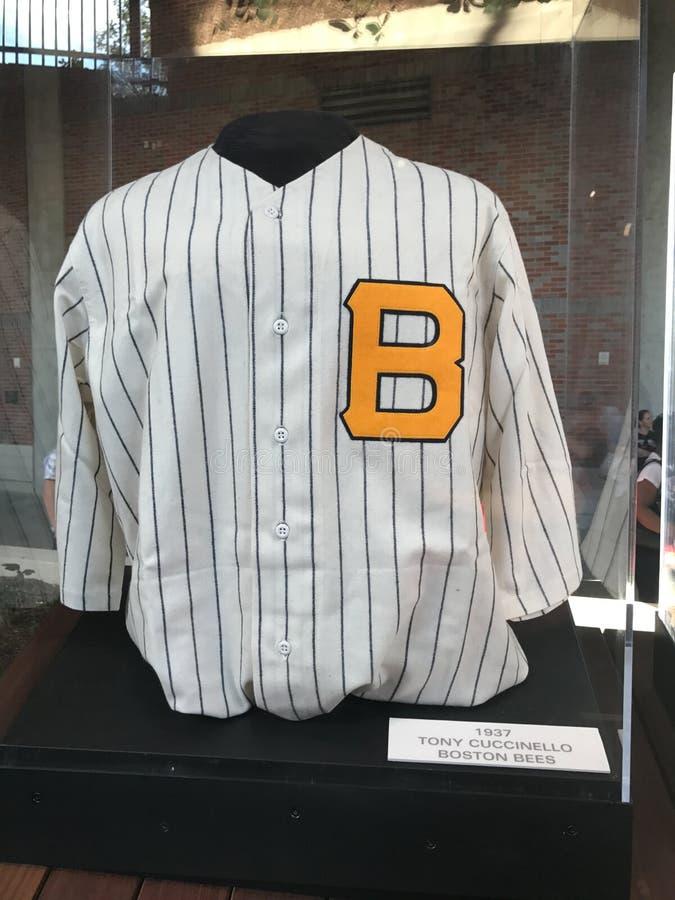 Boston-Bienen authentisches Jersey stockfotos