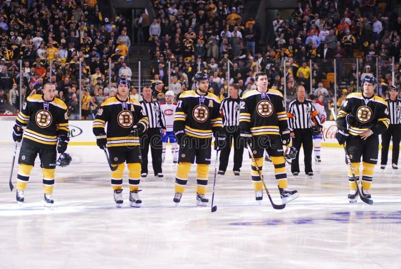 Boston Bruins foto de stock royalty free