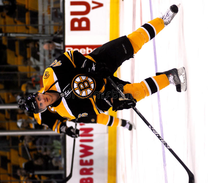 Boston Bruins Forward David Krejci. #46 stock photos