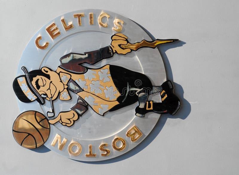 Boston Celtów Logo fotografia royalty free