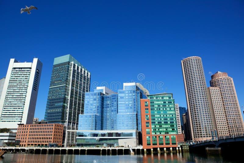 Boston city royalty free stock photos