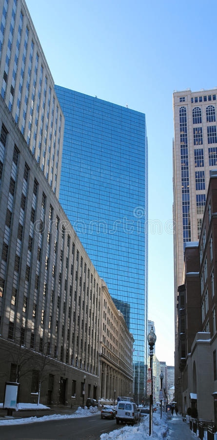 Boston City View Royalty Free Stock Image