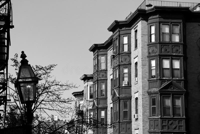 Boston classique noir et blanc image libre de droits