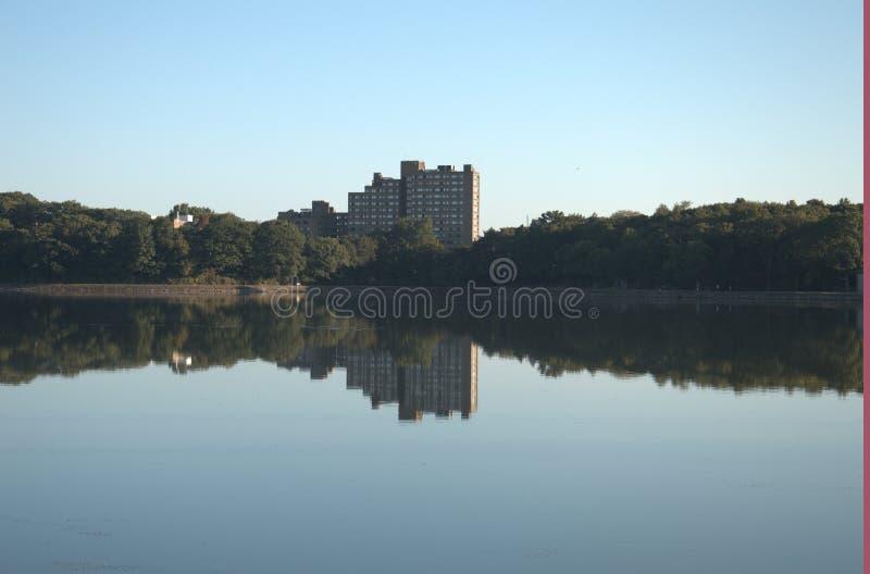 Boston-College-Reservoir lizenzfreies stockbild