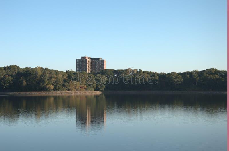 Boston-College-Reservoir stockfotos