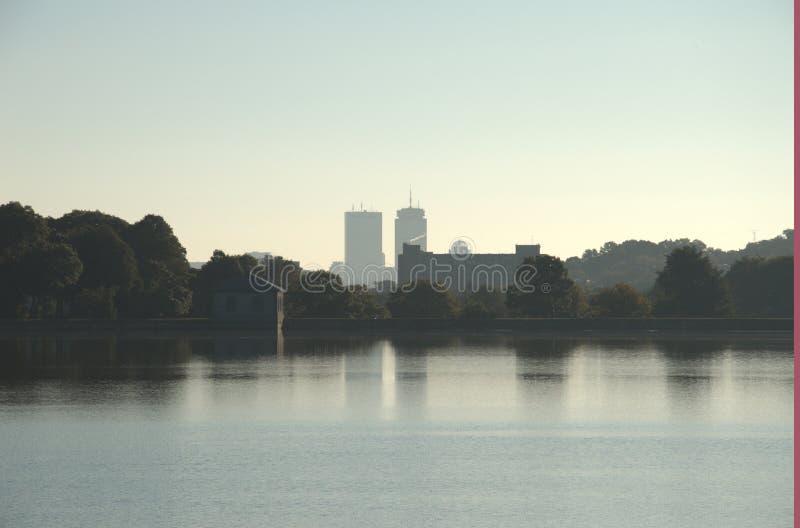 Boston-College-Reservoir stockbild