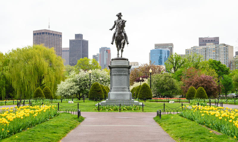Boston Common stock images