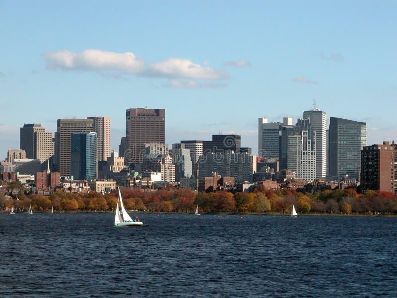 Boston da baixa imagem de stock