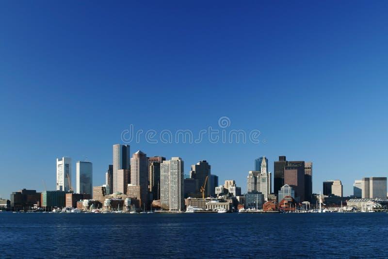 Boston del centro fotografie stock